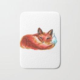 Let Sleeping Foxes Lie Bath Mat