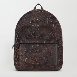 Ancient Leather Book Backpack