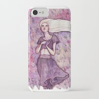 daenerys targaryen iPhone & iPod Cases featuring Waiting by Verismaya
