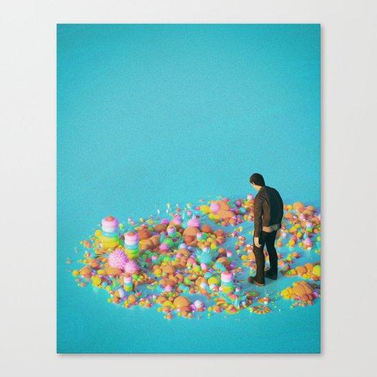 NEVER ENOUGH (everyday 03.16.17) Canvas Print
