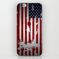 the walking dead iPhone & iPod Skins featuring walking dead by Molnár Roland
