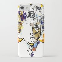 bob dylan iPhone & iPod Cases featuring bob dylan by Chris Shockley - shock schism