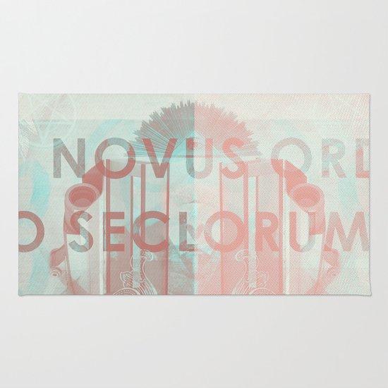 Novus Ordo Seclorum Rug