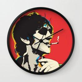 Richard Ashcroft Pop Art Quote Wall Clock