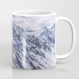 Mountains with snow Coffee Mug