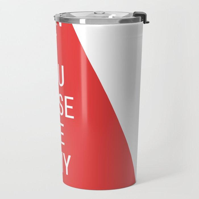 Just My Type Travel Mug