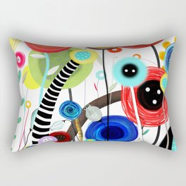 Falling In Love at a Coffee Shop Rectangular Pillow