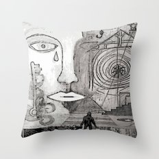 A Mothers Tears Throw Pillow