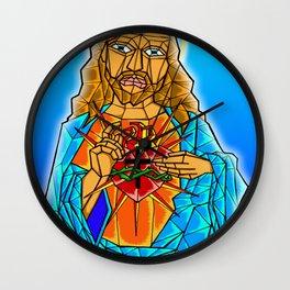 The Crystal Christ Wall Clock