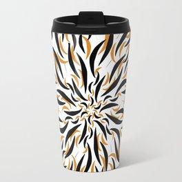 Tiger Dahlia  |  Bohemian Bear Floral Travel Mug