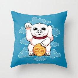 Lucky Dragon Throw Pillow