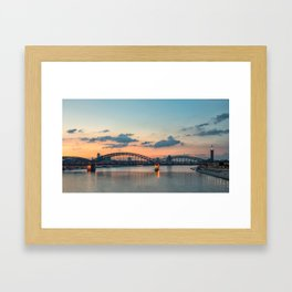 COLOGNE 20 Framed Art Print