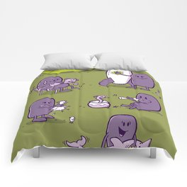 Master Bates' big day out Comforters