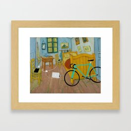 His room Framed Art Print