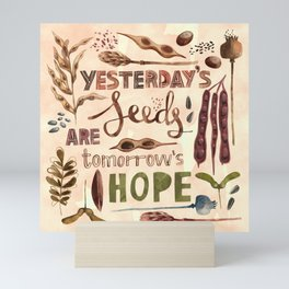 Seeds of Hope Mini Art Print