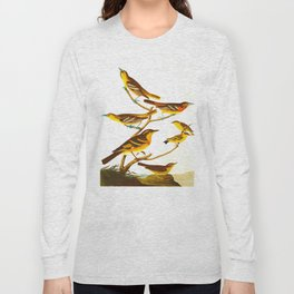 Bullock's Oriole Bird Long Sleeve T-shirt