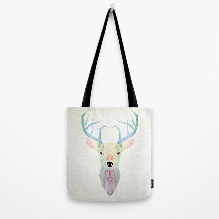 white deer Tote Bag