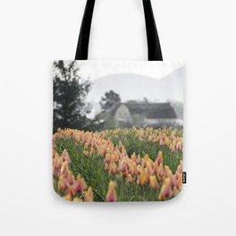 Faded Tulip Barn Tote Bag