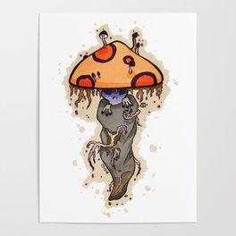 Odd Shroom Poster