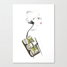 Valentino Clutch Canvas Print