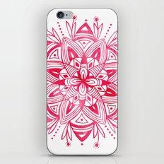 Mandala - Pink Watercolor iPhone & iPod Skin