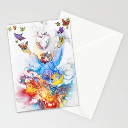 The Butterfly Deva Stationery Cards