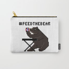 Feed The Bear Carry-All Pouch