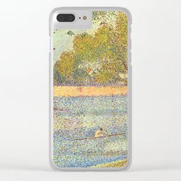"Georges Seurat ""The Seine at La Grande Jatte"" Clear iPhone Case"