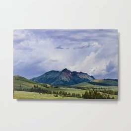 Electric Peak Yellowstone Metal Print