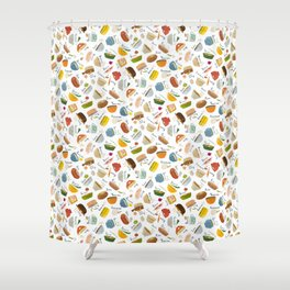 Soups of the World Shower Curtain