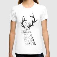 jackalope T-shirts featuring Jackalope by JChauvette