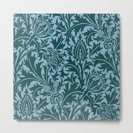 """William Morris """"Thistle"""" 3. Metal Print"""