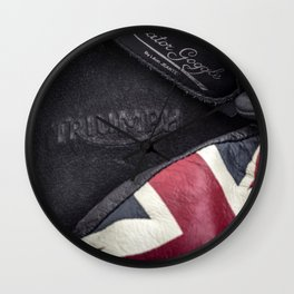 Triumph Motorcycles Wall Clock