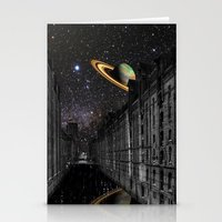 saturn Stationery Cards featuring Saturn by Cs025