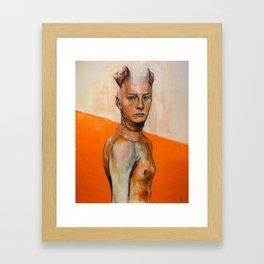 Injured by Apathy - Roap Framed Art Print