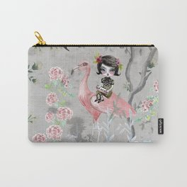 Grey sky Carry-All Pouch