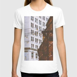 New York City Buildings and Lights (Color) T-shirt