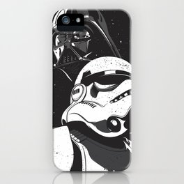Darth and Storm iPhone Case