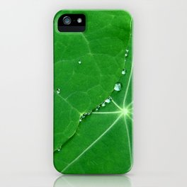 Nasturtium Dew iPhone Case