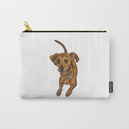 Maxwell the dog Carry-All Pouch