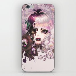 black orchid iPhone Skin