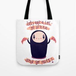 kaonashi fan-art Tote Bag