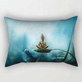 Temporary Peace Rectangular Pillow
