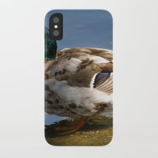 Mallard #1 Slim Case iPhone X