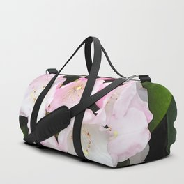 Pink Rhododendron in Spring Duffle Bag
