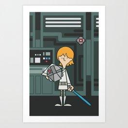 EP4 : Luke Skywalker Art Print