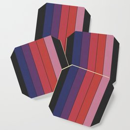 Five Colors and Black Coaster