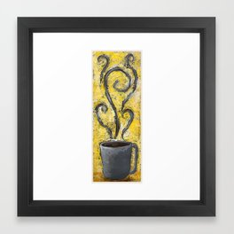 Cup'o Coffee Framed Art Print