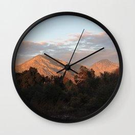 Near Sunset Wall Clock