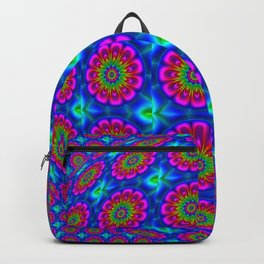 Flower  rainbow-colored Backpack